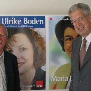Henning Scherf zu Stippvisite bei der Gütersloher SPD
