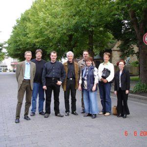 Bildunterschrift: (von links) Klaus Rinne, H.-J. Borgdorf, Markus Weitkemper, Georg Schneeberger, Klaus Tönshoff, Ramona